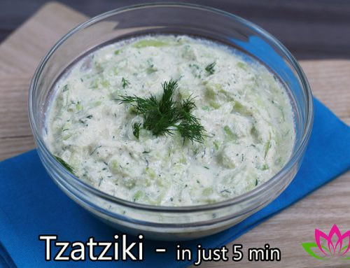 Tzatziki – in just 5 minutes