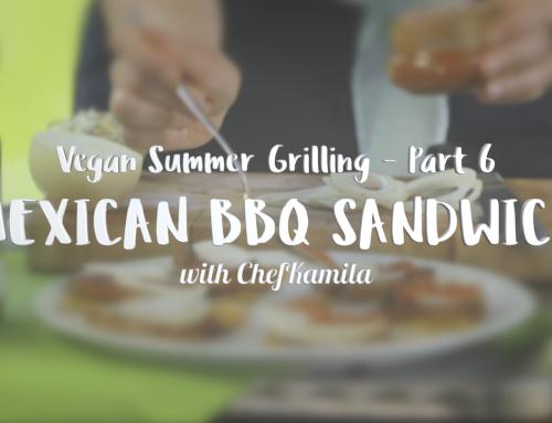 Mexican BBQ sandwich