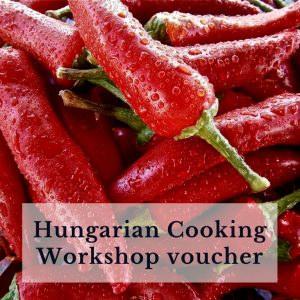 Hungarian Cooking Workshop voucher