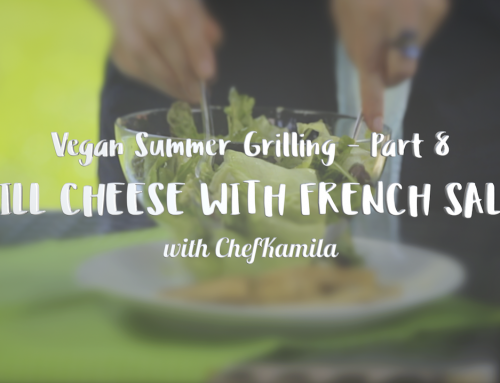 GRILL CHEESE w/ FRENCH SALAD